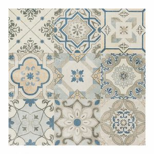 Patchwork Azul 60x60
