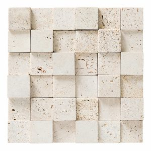 Quadrat Travertino Rústico 30×30